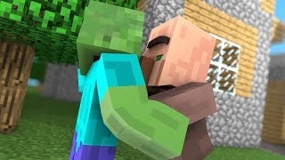 - Villager Life Top Minecraft Animations