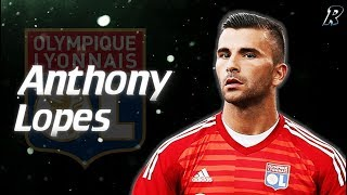 Anthony Lopes 2017/18 Amazing Saves - Olympique Lyon
