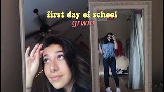 GRWM: FIRST DAY OF SCHOOL (8th grade)