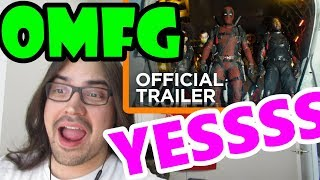 Pothead Reacts 2 Deadpool 2 | The Trailer (20th Century Fox) LIVE + REACT-CEPTION