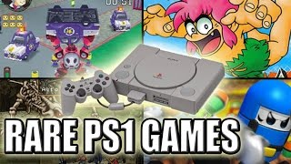 10 More Rare Playstation Games | Most Valuable PS1 Games