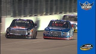 Briscoe and Bell battle hard for the lead at Gateway