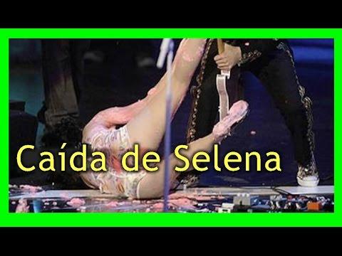 Caída de Selena Gómez en el concierto Revival Tour 2016