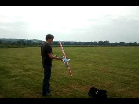 Download Electric SPAD Dogfighter - Homemade Plastic RC Plane