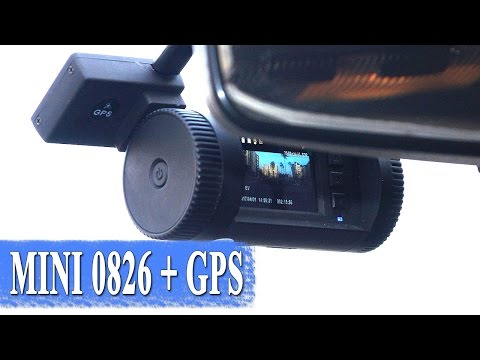 Car recorder MINI 0826 - Ambarella A7LA50 with GPS great review
