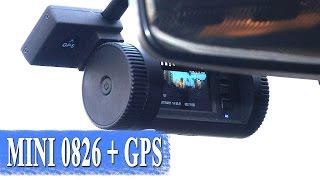 Автомобильный регистратор MINI 0826 - Ambarella A7LA50 с GPS большой обзор