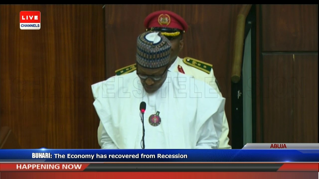 2019 Budget Presentation Buhari Addresses Joint Session Of NASS Pt.2 |Live Event|