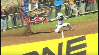 Worst Motocross Crashes of 2019 MXGP