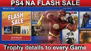 PS4 [NA] FLASH SALE | Cheap Platinum Games & Trophy Details | ends 24/09/18