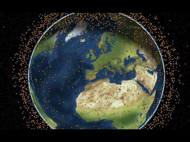 Teléfono satelital - Cómo funcionan satélites: LEO MEO y GEO