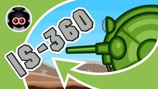 Атака Стальных Монстров #4: ИС-360 | Мультики про танки