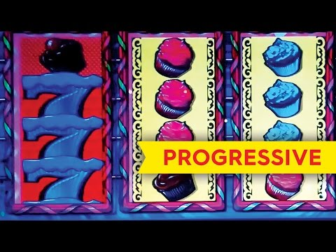 Takes the Cake Slot Machine *PROGRESSIVE* Big Win *LIVE PLAY* Bonus! - 동영상