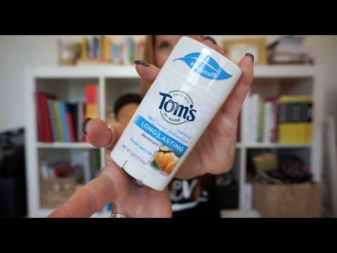 Unboxing and Review - Tom's Of Maine Natural Deodorant