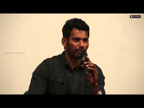 Actor VISHAL Deepavali Press Meet for Media - 2DAYCINEMA.COM