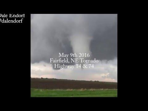 Fairfield Nebraska Tornado May 9, 2016