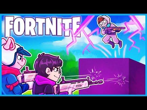 USING the *CUBE* to ELIMINATE Players in Fortnite: Battle Royale! (Fortnite Funny Moments & Fails)
