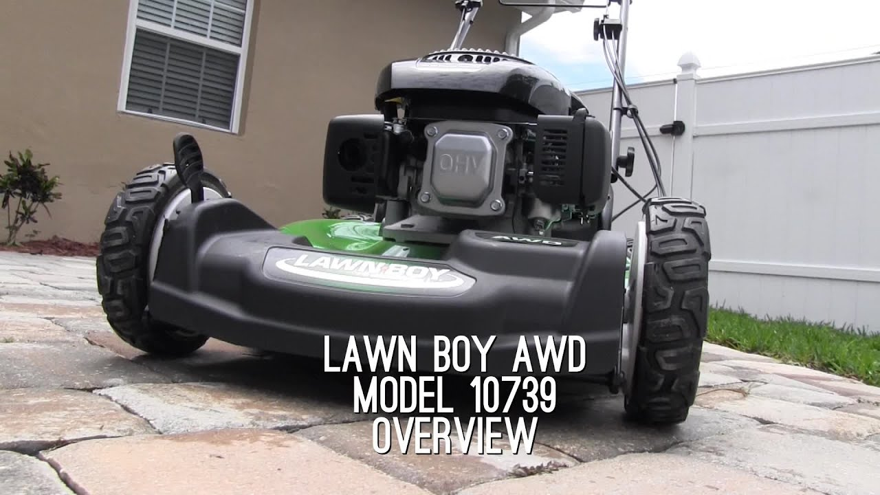 Lawn Boy AWD Mower Review