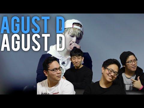AGUST D (SUGA) | AGUST D MV Reaction [4LadsReact]
