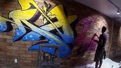 APSE Graffiti | Color Cartel Mural | Phoenix, AZ '15
