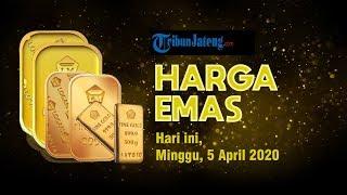 Harga Emas Hari Ini Minggu, 5 April 2020