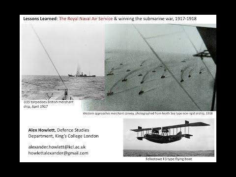 RNAS Anti-Submarine Warfare, 1917-1918