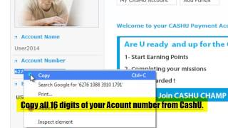 How to fund your iFOREX account using CashU
