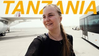 FLYING TO AFRICA Let the Tanzania vlogs BEGIN