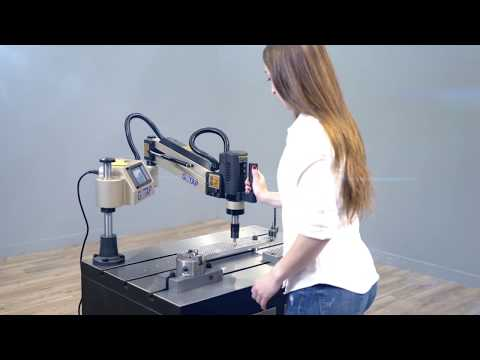 Electric tapping machine REV-M12 roscadora eléctrica