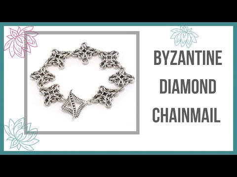 Byzantine Diamond Chainmail Tutorial - Beaducation.com