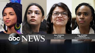 Trump continues his attacks against 4 minority congresswomen