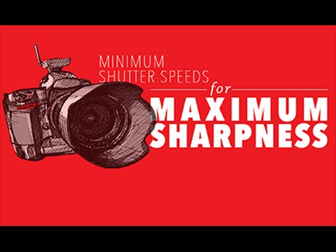 Minimum Shutter Speeds for Maximum Sharpness