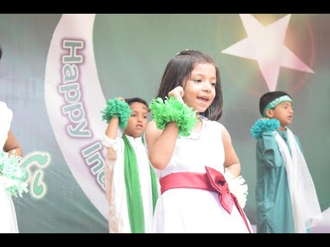 MIDasia Foundation Academy - Independence day 2017 - Performance by Class I Students