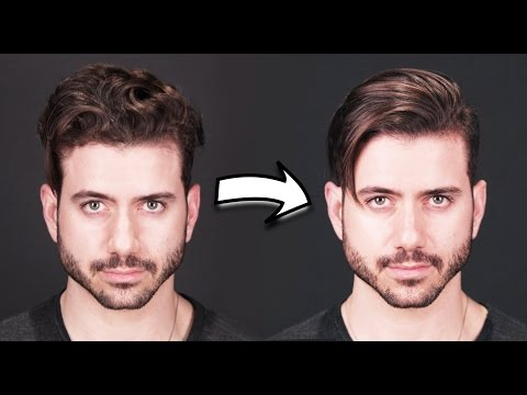 HOW TO GET STRAIGHT HAIR | Men's Curly to Straight Hair Tutorial 2019 thumbnail