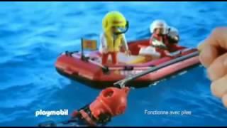 www electrochoc fr vous présente Playmobil 4428 Pompiers Les Sauveteurs Hélicoptère et Bateau Pneuma