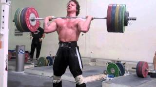 Donny Shankle is Bigger Than You - 200kg PR Hang Clean