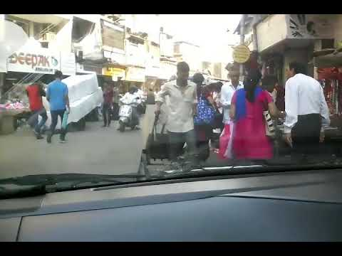 Topiwala driving instructor.bhuleshwar in crowded place practice
