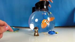 FINDING DORY COFFEE POT PLAY SET WITH DORY AND NEMO SWIMMERS AND FIND DORY BLIND BAGS AND ORBEEZE