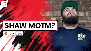 Luke Shaw Got MOTM? | Howson Fancam | Man United 3-1 Newcastle