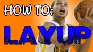 Basketball Tips & Fundamentals: How To Shoot A Layup In Basketball