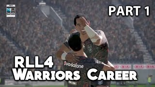 EPIC TRIES FROM FUSITUA!!! Rugby League Live 4 Warriors 2019 Career #1