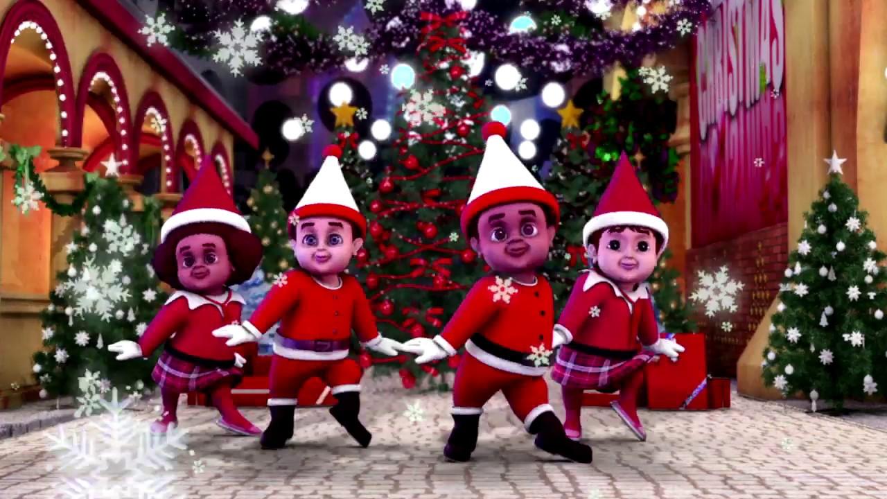 jingle bells remix hip hop dance | christian christmas songs for kids' with lyrics and action ...