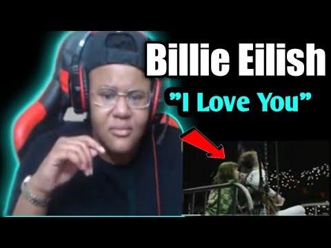 Billie Eilish - i love you (Live At The Greek Theatre)**REACTION**