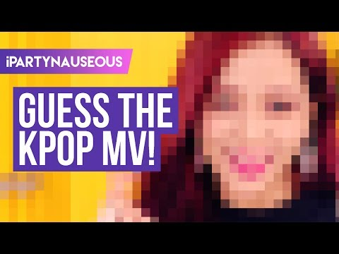 Guess the K-pop MV Game // 2017 edition