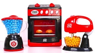 Cooking with Kitchen Oven and Play Doh! Blender and Mixer Playset for Kids