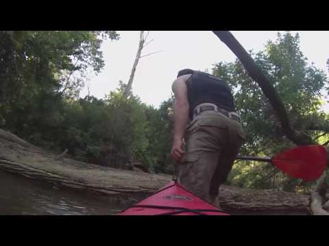 Kayak camping near DC on the Patuxent River