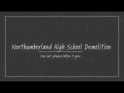 2019 - Northumberland High School Demolition, Heathsville, Virginia