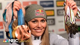 Lindsey Vonn on final career run: 'Most nervous I've ever been in my life' | NBC Sports