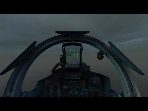 DCS Su33 Bad weather landing on carrier Admiral Kuznetsov