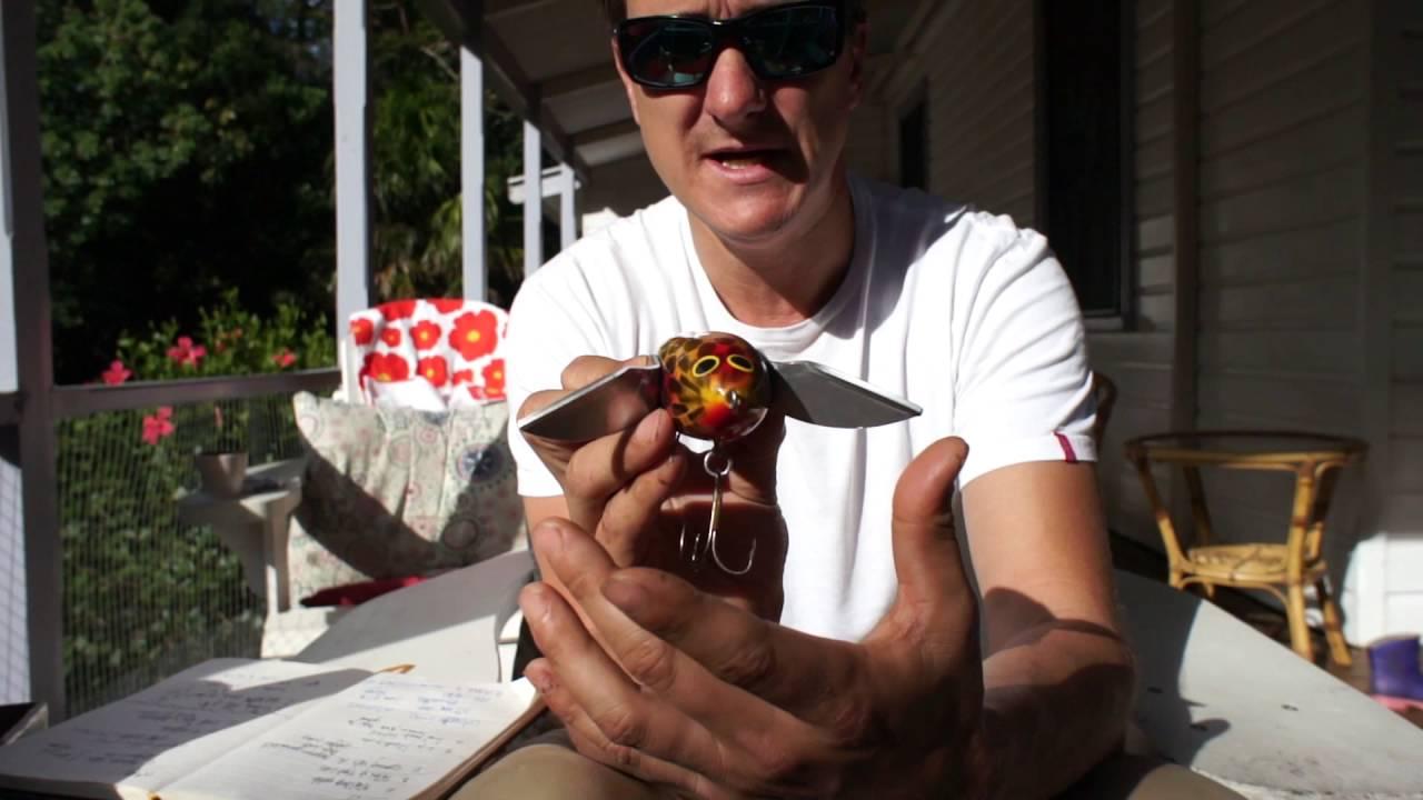 Handmade Lures Of Australia Unwrapped - Cod Seeker Lures - August 2016