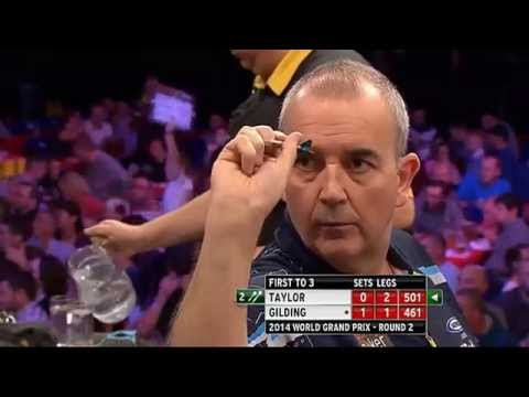 TAYLOR vs GILDING - PDC World Grand Prix 2014 - Second Round